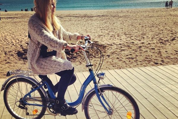 Excursions in Barcelona by bike