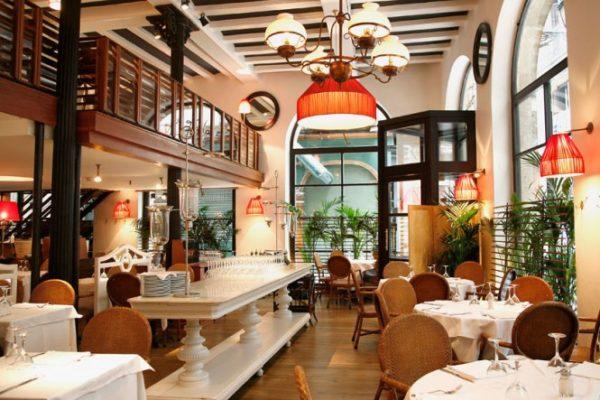 The restaurant La Fonda
