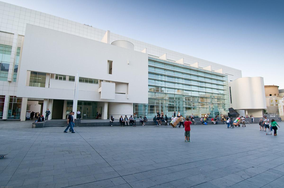 Музей современного искусства MACBA - Барселона Путеводитель ...