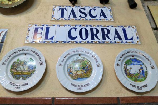 Tasca El Corral Interior Barcelona Spain 800×600