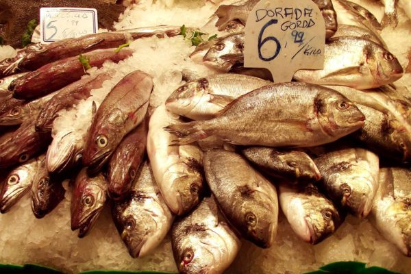 Boqueria fish