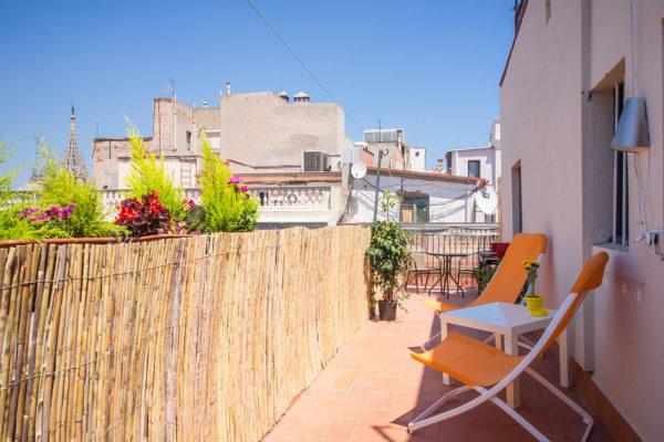 Апартаменты feliz Terraza Avinyo