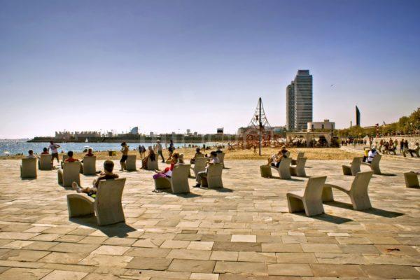 Playa Bogatell, Barcelona