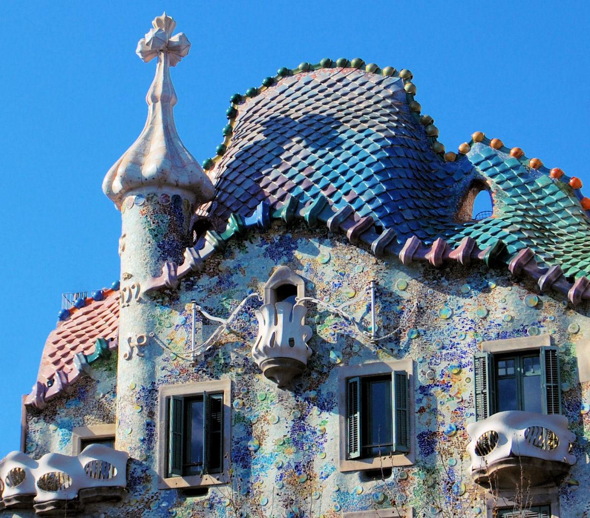 дом батльо Casa Batllo Barcelona Attractions