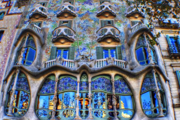 Casa Batllo Full View HDR By Alvarocruzramos