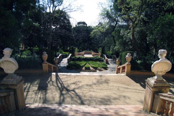 Staircase Park Labyrinth Horta Barcelona