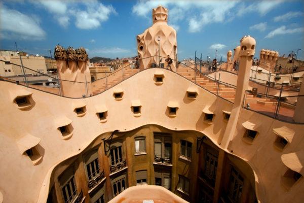Дом Мила или La Pedrera
