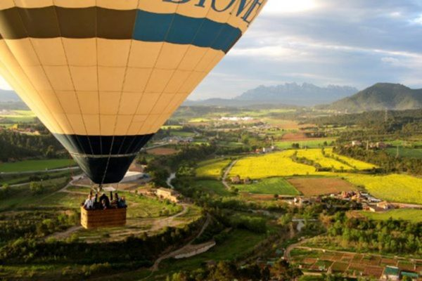 Balloon Flight Paseo Bages