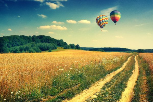 Hot Air Balloon 00388889