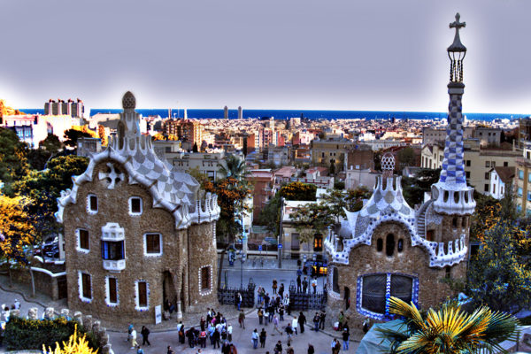 Parc Guell In Barcelona 2