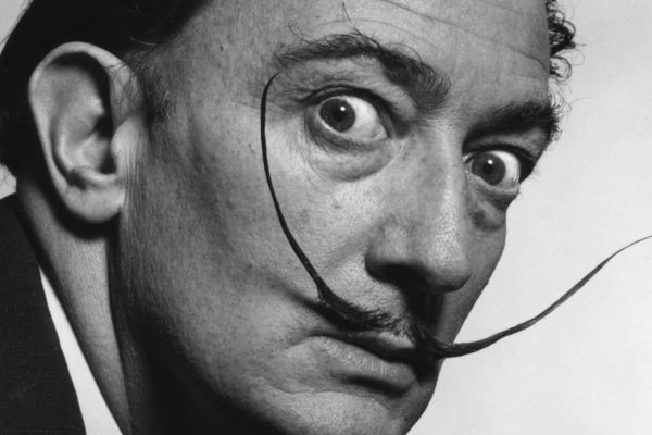 Salvador Dali Moustache Close Up Wallpaper 1080p