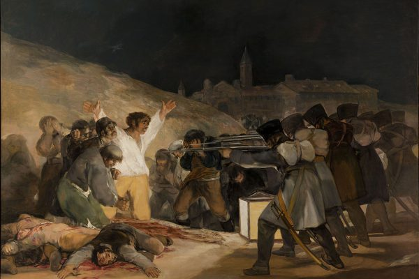 1280px El Tres De Mayo, By Francisco De Goya, From Prado Thin Black Margin