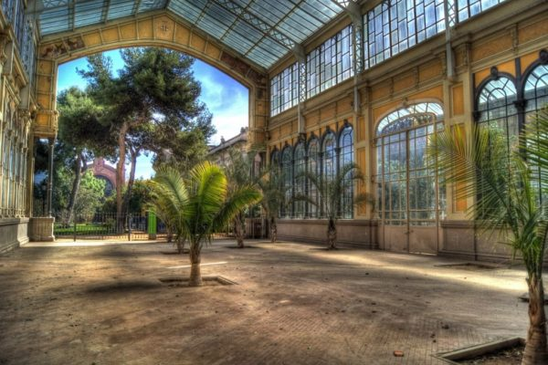 Greenhouse Ciutadella Park Pictures 1 2