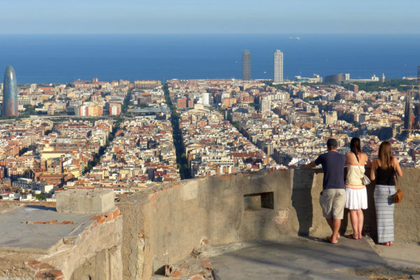 Barcelona Old Bunker Overlook