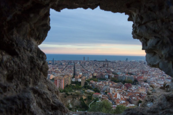 Barcelona view from Carmel Bunkers 750 × 500
