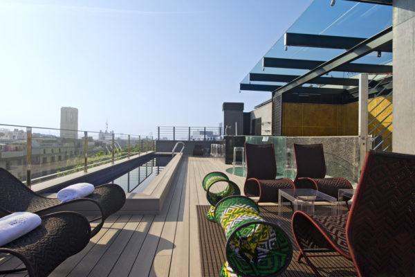 Roof Terrace Hotel Bagués