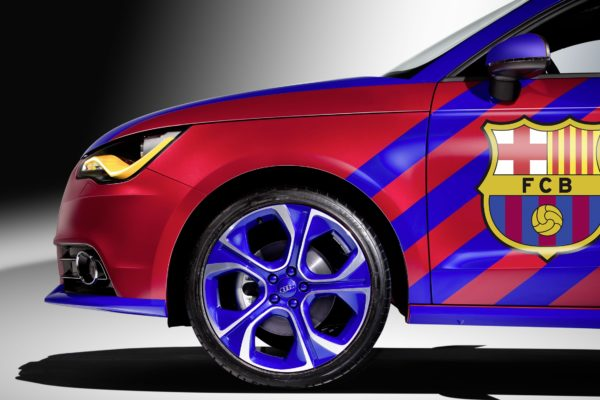 Audi A1 FC Barcelona Lateral