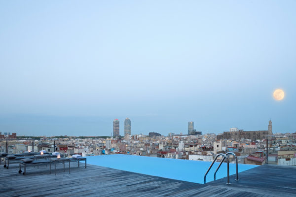Main SkyBar Grand Hotel Barcelona