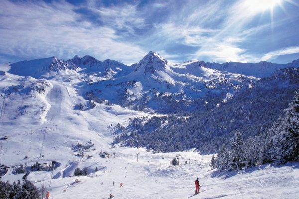 Skiing and snowboarding in Andorra