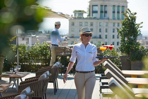 Barcelona 2014 Fine Dining Terrat Service 01