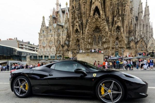 Hire Ferrari 458 Italy Rent Ferrari 458 Italia Black In Barcelona Rent Sportcar Sapin Top Car Monaco