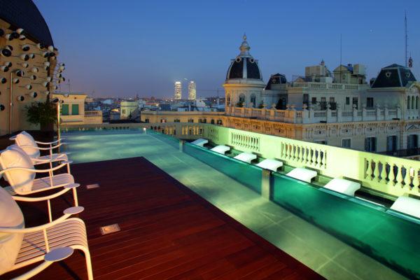Terraza Hotel Vistas Barcelona Hd