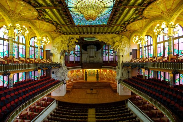 Palace of Catalan Music, The Catalan Concert Hall