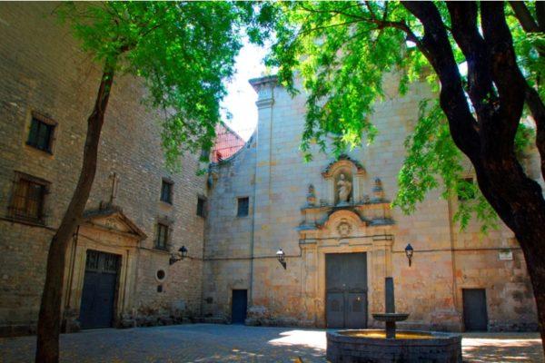 Площадь Sant Felip Neri