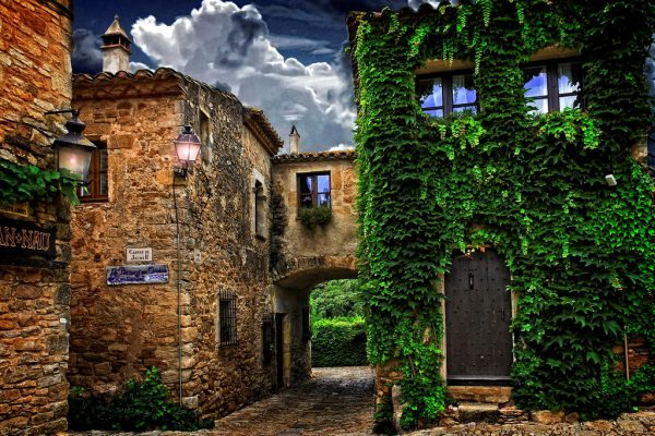 Medieval village of Pals and Peratallada