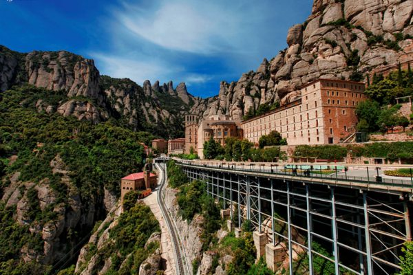 Excursion to the mountain of Montserrat