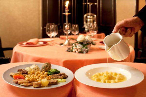 Barcelona Restaurant, where you can enjoy Christmas meals