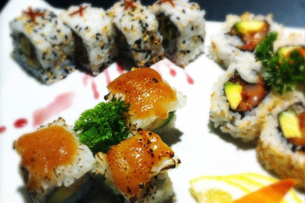 The action «Lost In Sushi» Tuesdays at Iki restaurant