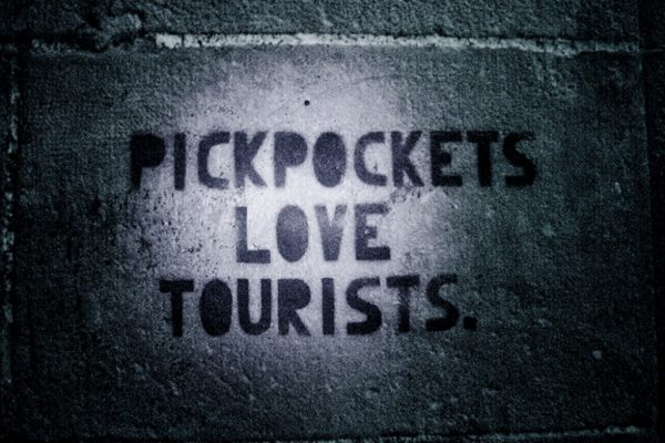 Pickpockets Love Tourists