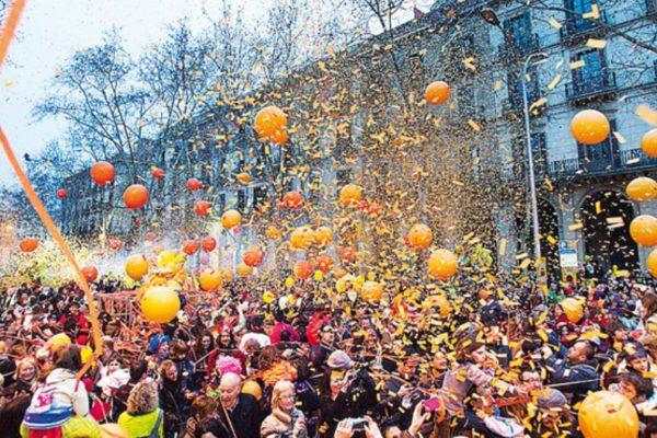 Carnival week in Barcelona