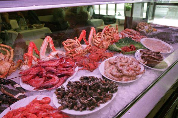 Ресторан морепродуктов Carballeira