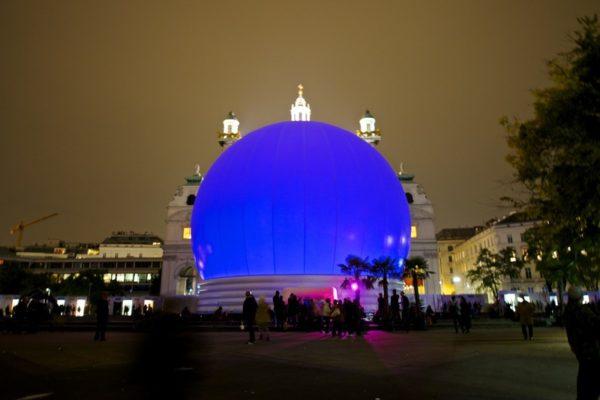 Vienna Sphere - a unique 3D show inside a huge sphere