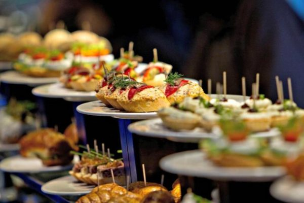 The best restaurants of Barcelona, serving pintxos.
