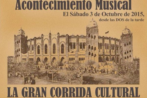 3 октября фестиваль Luciano y Amigos Gran Corrida Cultural