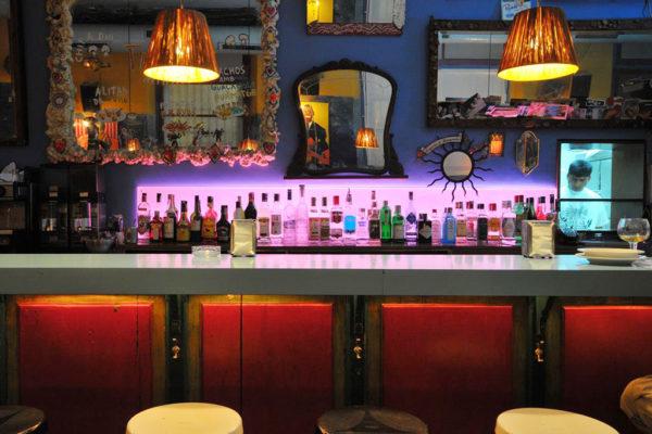 Margarita Blue Bar Interior Barcelona, España