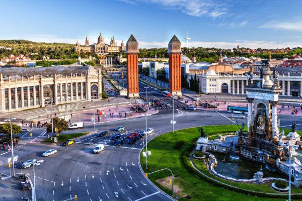 Plaza Espanya (Площадь Испании)