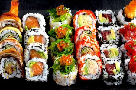 Sushi in Barcelona