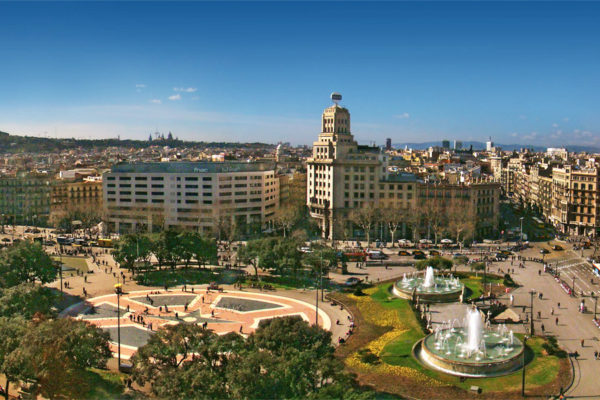 Plaza Cataluna Barcelona