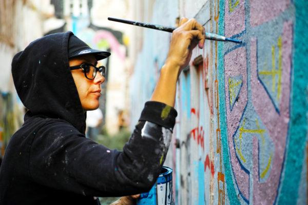 Фестиваль граффити в La Escocesa