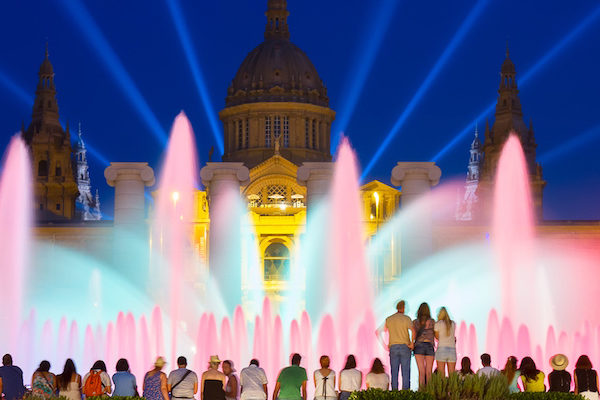 "The show ""Singing fountains"""