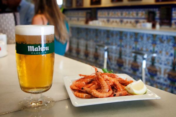 Clasica Mahou Beer Tapas