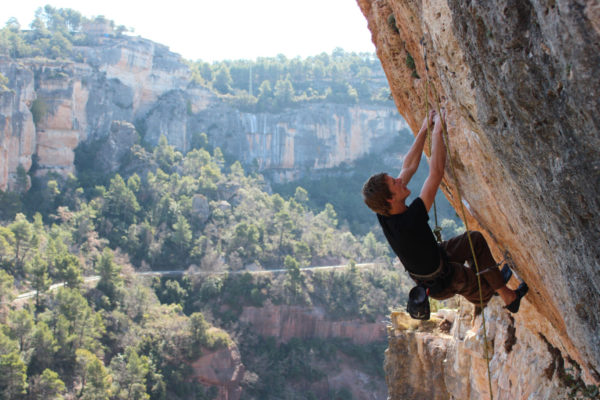 Rock climbing in Catalonia