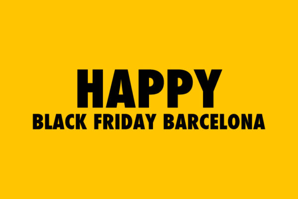 Black Friday Barcelona