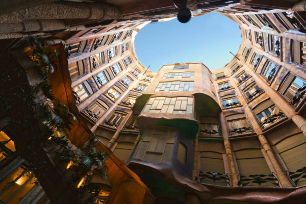 Casa Mila Patio From Under Credit