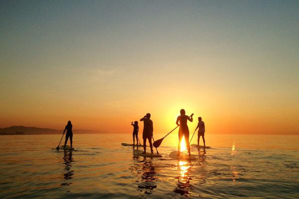 Pukas Surf Eskola Barcelona Sup Amanecer Dawn 04