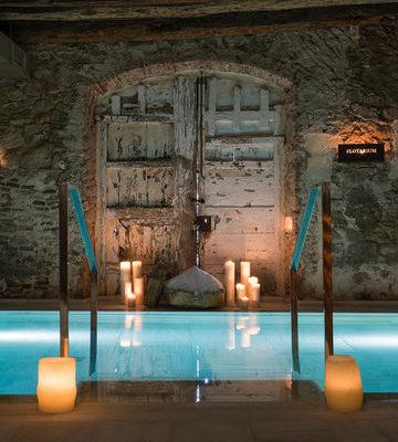 Mas Salagros Eco Resort Amp Aire antiguos baños Imagelinkaire Vallromanes Mas Salagros 005b